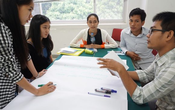 Building capacity of young people to work in water, sanitation, and hygiene sector